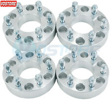 4PC 1.5'' 6x5.5 to 6x135 Wheel Spacers Adapters 14x1.5 Studs for Chevy to Ford