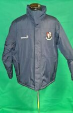 AFC Bournemouth Carbrini Football Winter Coat with detachable hood Size L Navy