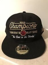 "Toronto Raptors 2019 Champions ""The Best in the World"" Replica Snapback Hat"