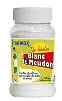 BLANC DE MEUDON STARWAX NETTOIE DEGRAISSE POLIT FAIT BRILLER SURFACE SANS RAYER