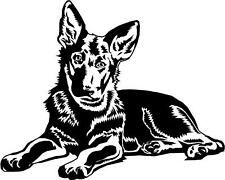 German Shepherd/Alsatian Puppy Dog Car,Van Sticker #3