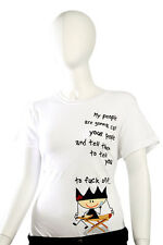Ugly Little Bitch - XL - My People Your People Juniors T-Shirt White Funny Humor
