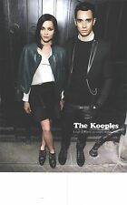 PUBLICITE ADVERTISING  2012  THE KOOPLES déja 3 ans Randy & Leigh
