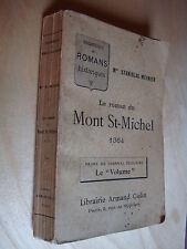 Stanislas Meunier Le roman du Mont St-Michel 1364