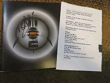 Bono signed tour program coa + Proof! U2 autographed with setlist from 360 tour