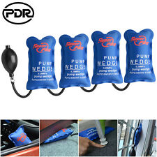 4pc Automotive Air Wedge Pump Up Clamp Shim Inflatable Bag Tool For Door Windows
