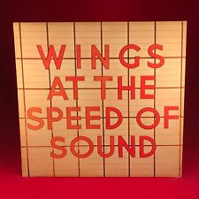 Wings At The Speed Of Sound 1976 GB Vinyle LP+Inner Excellent Paul Mccartney A