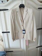 Gant Stretch Linen Blazer In Putty. Size 16. Bnwt