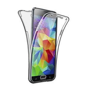 Case for Samsung Galaxy S5 / S5 Neo Full Body 360 Cover Silicone Front and Back