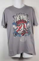 The Who T Shirt Rock and Roll Hall of Fame 1990 Gray Grey T-Shirt Mens New