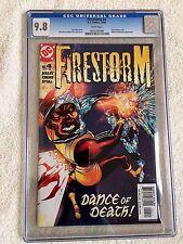 Firestorm #4 DC Comics October 2004 CGC 9.8 White pages
