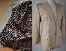 New Dolce&Gabbana sz 44 / US 8 blazer coat jacket dress suit $3595 leopard