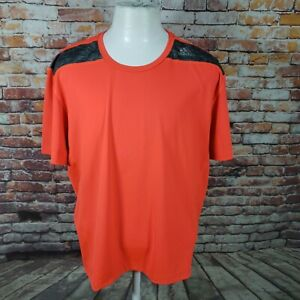 ADIDAS MEN'S FITTED TECH FIT PERFORMANCE TEE SIZE XXL  B13-04
