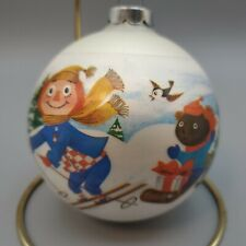 Vintage Stocking Stuffers by Corning Raggedy Ann & Andy Ornament ~ 1973