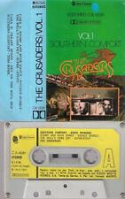THE CRUSADERS Southern confort DIFICULT SPANISH cassette PAPER LABEL  1976 SPAIN