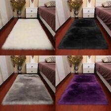 UK Super Soft Large Sheepskin Rugs Faux Wool Fluffy Plush Fur Rug Carpet Sofa
