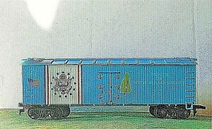 "Life-Like 40' ""Wood"" Ice Reefer 1976 Bi-Centennial Series ~ NEW HAMPSHIRE - HO"