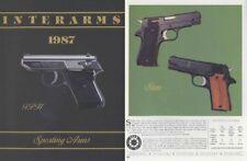 Interarms 1987 Gun Catalog