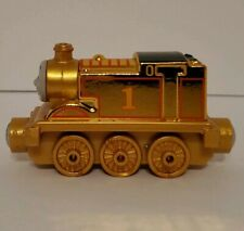 Take Along N Play Diecast Thomas the Train Limited Edition 75 Year Gold Thomas