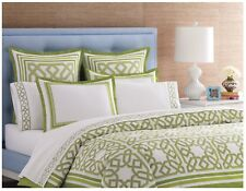 Jonathan Adler Parish Twin Duvet Cover Bedding Green NWT $255.00