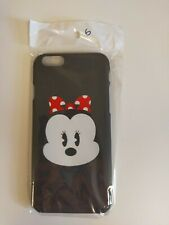Disney Store Japan iPhone 6/6s/7/8 Minnie Mouse Hard Black Case Cover