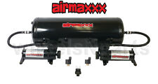 Air Ride Suspension Air Compressors & 8 Gallon Steel Tank 150 psi Off Switch