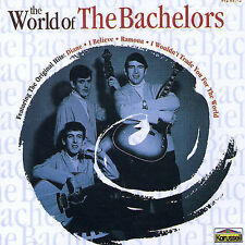 NEW CD: The World of the Bachelors: The Bachelors: SMALL CRACK IN CASE FRONT