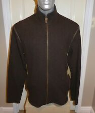 AUTHENTIC TIMBERLAND WOOL BLEND FLEECE , FULL ZIP , MENS ( XL )