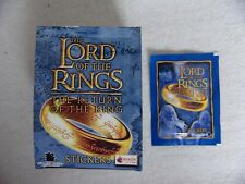 Lord of the Ring Stickers 1 Full box = 50 Packs Return of the King Merlin LOTR