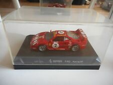 Detail Cars Ferrari F40 Racing GT #2 in Red on 1:43 in Box