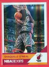 """2017-18 NBA HOOPS (BKB) Shaquille O'Neal SP """"NBA 2K18"""" HOLO-FOIL CHASE CARD #34"""