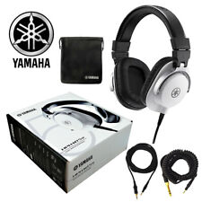 Yamaha HPH-MT5 Professional Studio Monitor Headphone (White) 889025108409