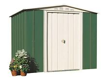 TRECO GARDEN SHED 87SEX FEDERATION GREEN 2.33M W X 2.06M D X 1.98M H