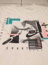 Nike Challenge Court Shirt Pullunder Agassi Tennis Retro Vintage Size S/M