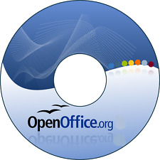 Apache Open Office Suite 4.17 Word Excel Compatible for MAC OS X 10.7 &Newer DVD