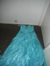 Ladies Magic Nights Blue 2 Piece Prom/Bridesmaid/Party Dress Size 12