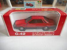 Yonezawa Diapet Nissan Bluebird 4-Door HT Turbo SSS-X in Red on 1:40 in Box