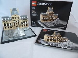 Lego Architecture Louvre (21024) Full set with original instructions and box