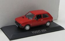 Yugo 45a (1981) rosso/ALTAYA 1:43 BLISTER