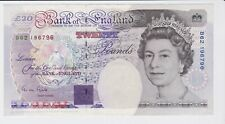 BANK OF ENGLAND FARADAY £20 TWENTY POUNDS BANKNOTE SIGNED GILL SUPERB CONDITION