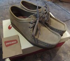 Clarks Original Sand Suede Wallabees Moccasins Womens Size 8M with Box #35395