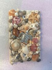 Real Sea Shell Seashell Light Switch Cover Plate Sea Turtle Starfish Pearls
