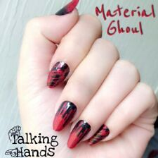 Color Street MATERIAL GHOUL (Red Black Glitter Blood Spatter Ombre Halloween)
