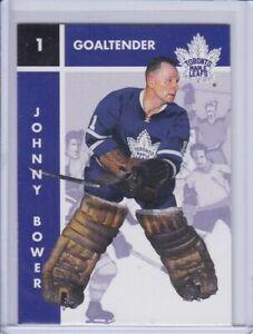 Johnny Bower 1995 Parkhurst '66-67 Hockey Card 119 Grade MT