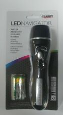 Garrity Navigator LED Flashlight Bright Durable water-resistant with batteries