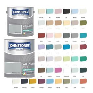 Johnstone's Wall & Ceiling Soft Sheen Emulsion Paint 2.5 Litre  - ALL COLOURS