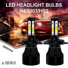 4-Sides H7 180W 27000LM LED Headlight Bulbs Kit 6000K White Xenon HID High Power