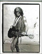 Aerosmith Joe Perry with his Travis Bean Aluminum Neck Guitar 8x11 pin-up photo