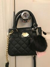 Luv Betsey By Betsey Johnson Dina Black Crossbody Shoulder Bag NEW