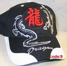 superbe casquette  brodé dragon top qualité coton  hat